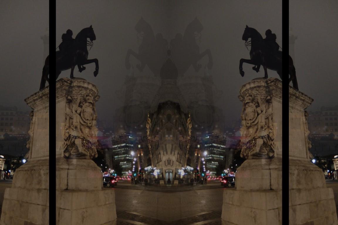London - Charing Cross - The Rider by K.Veijo