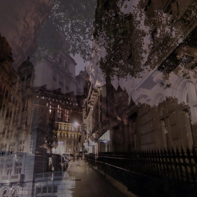 London - Nighttime at Whitehall by K.Veijo